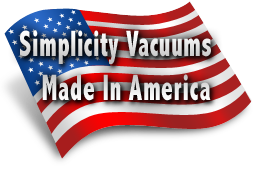 Simplicity Vacuums Are Made In America!